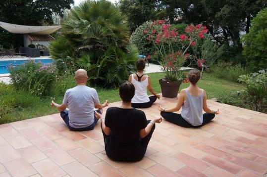 Prof de yoga Montpellier