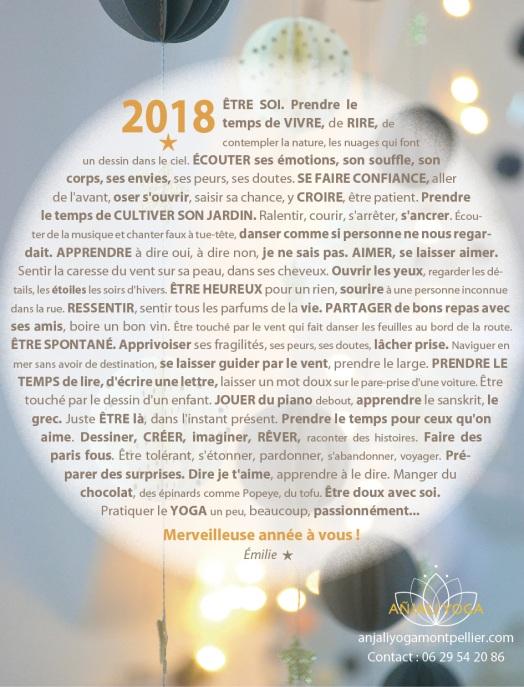 Anjaliyoga voeux 2018 WP