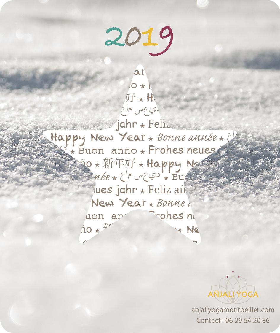 Anjaliyoga voeux 2019
